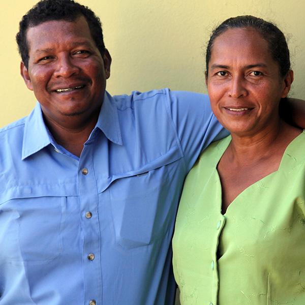 Benjamín and Isabel Martínez
